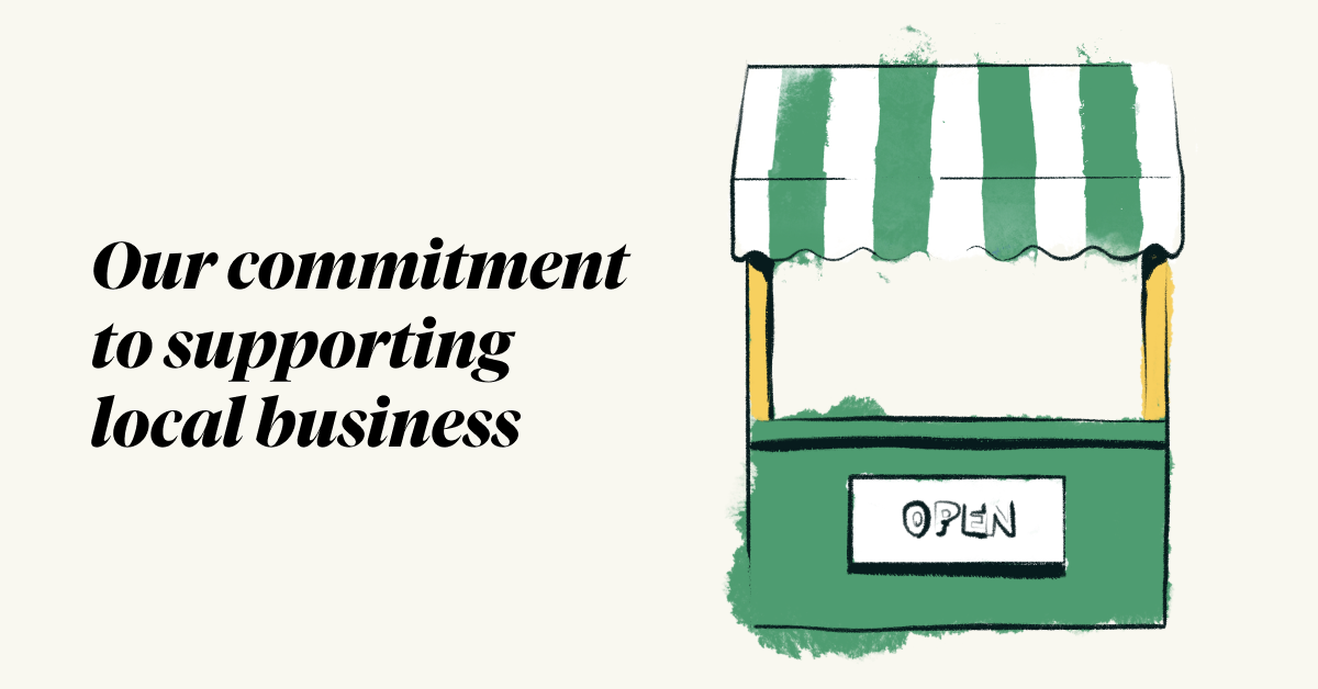 Divvy - Our commitment to supporting local businesses