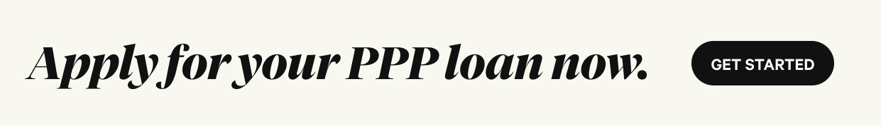 Apply for your PPP loan now