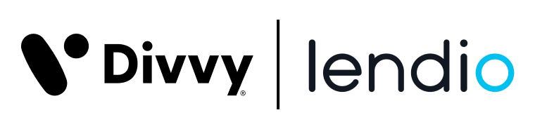 Divvy and Lendio Logos