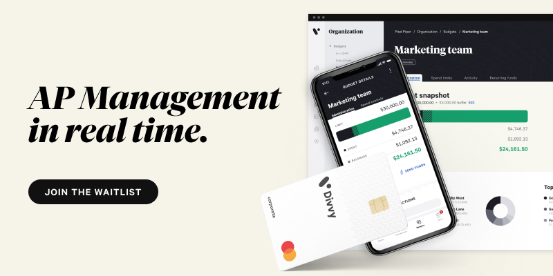 AP management in real time. join the waitlist.