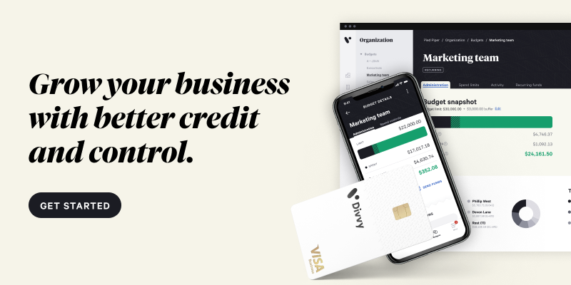 grow your business with better credit and control. get started.