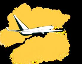 illustrated airplane