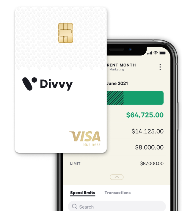 divvy phone and card